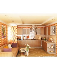 Кухня Капучино-7 (3,2х2,1 м)