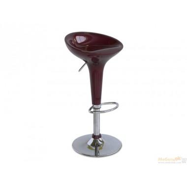 Барный стул Густаво (бордовый)
