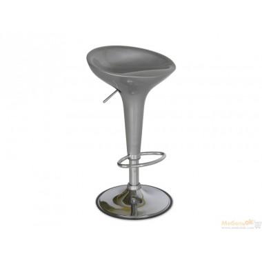 Барный стул Густаво (серебристый)