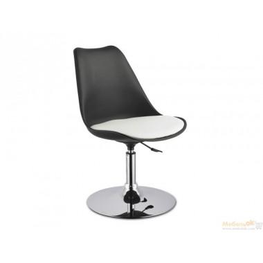 Барный стул Рубен (черно-белый)