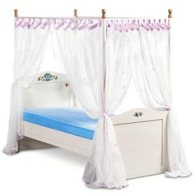 Кровать с балдахином SL Flora (120х200см)