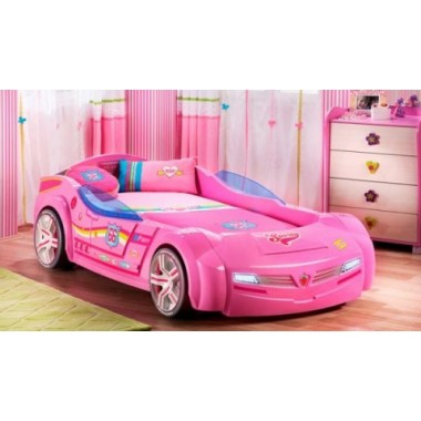 Кровать - машина SL BICONCEPT BiPinky (90х195см)