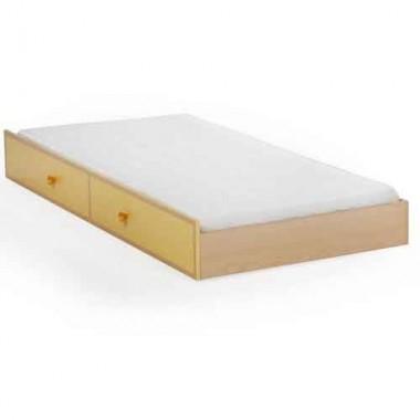 Кровать - ниша SPLIT YELLOW (90 х180см)