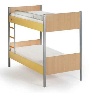 Кровать 2-х ярусная SPLIT YELLOW