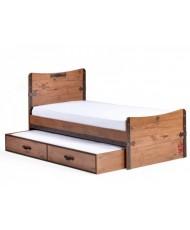 Кровать- ниша Black Pirate (90х190см)