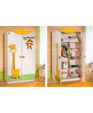 Шкаф 2-х дв. Baby Safari