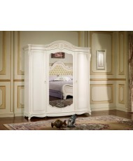 Шкаф 4-х дв. Жозефина бел